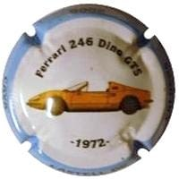 CASTELL DE CALDERS V. 13741 X. 70931 (FERRARI 246 DINO)