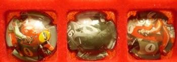 MONT CARMANY JUEGO 3 PLACAS V. 21904-5-6 (CAMPEONES 500cc)