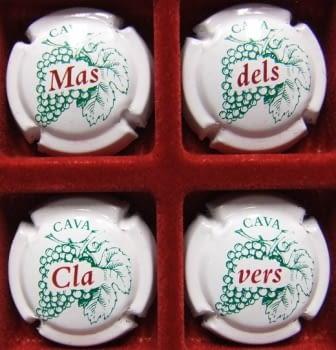 MAS DELS CLAVERS JUEGO 4 PLACAS V. 13966 A 13969