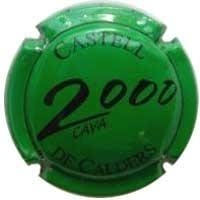 CASTELL DE CALDERS V. 16634 X. 56997