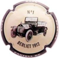CASTELL DE CALDERS V. 11713 X. 54826 JEROBOAM (BERLIET 1912)
