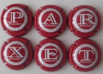 PARXET JUEGO 6 PLACAS V. 27062 A 27067