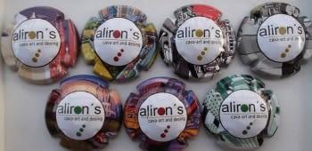 ALIRON'S JUEGO 7 PLACAS V. 11131 A 11137