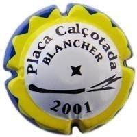 PIRULA CONMEMORATIVES X. 08746 CALÇOTADA BLANCHER 2001
