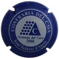 PIRULA OFICIALS X. 13499 CONFRARIA DEL CAVA (2001)