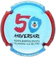 PIRULA TROBADES 2010 X. 70689 PENYA BARCELONISTA VILANOVA