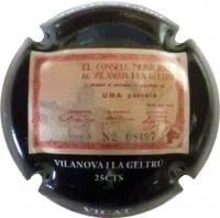 VICAT X. 99459 (25 CENTIMS VILANOVA I LA GELTRU)