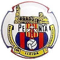 PIRULA TROBADES 2014 X. 119816 PENYA BARCELONISTA DE LLEIDA