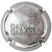 GABARRO ISART V. 31518 X. 113467 PLATA NUMERADA