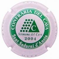 PIRULA OFICIALS X. 04353 CONFRARIA DEL CAVA 2004
