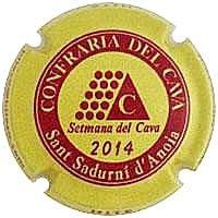 PIRULA OFICIALS X. 119116 CONFRARIA DEL CAVA 2014