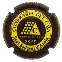 PIRULA OFICIALS X. 127816 CONFRARIA DEL CAVA 2015