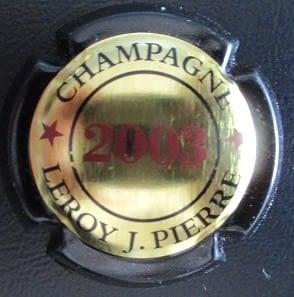 LEROY, Jean-Pierre LAMBERT 24 2003 (FRA)