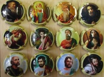 RAVENTOS MONTSERRAT JUEGO 12 PLACAS X. NOVEDAD (APOSTOLES)