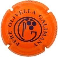 PERE OLIVELLA GALIMANY V. 5878 X. 10335 (LLETRES BLAVES)