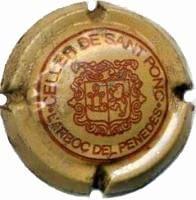CELLER DE SANT PONÇ X. 22384 (MARRO CLAR I VERMELL)