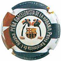 PIRULA NO VALIDABLES X. 117430 PENYA BARÇA LA HABANA (CUBA)