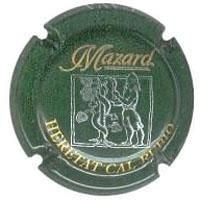 MAZARD V. 3367 X. 00825 VERD FOSC
