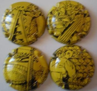 ROVIRA RIBA JUEGO 4 PLACAS V. 7369-70-71-8457