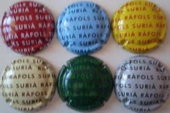 RAFOLS SURIA JUEGO 6 PLACAS V. 5923 A 5928