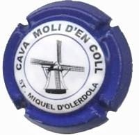 MOLI D'EN COLL V. 3965 X. 00325 BLAU FOSC