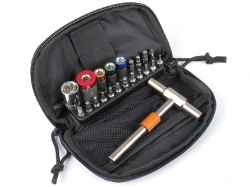 65, 45, 25 & 15 INCH LBS KIT WITH DELUXE CASE, T-HANDLE, AND EXTENDED BIT - 1