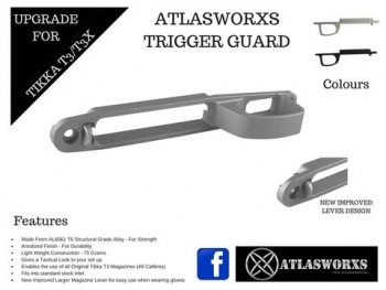 ATLASWORXS TRIGGER GUARD - TIKKA T3 ALLOY - 5