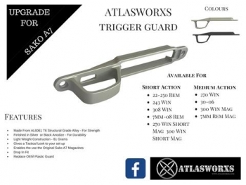 ATLASWORXS TRIGGER GUARD - SAKO A7 ALLOY - 4