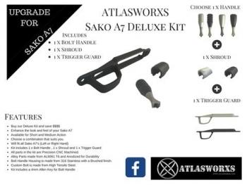 ATLASWORXS - GUNSMITHING BARREL THREAD PROTECTOR BLANK - 2