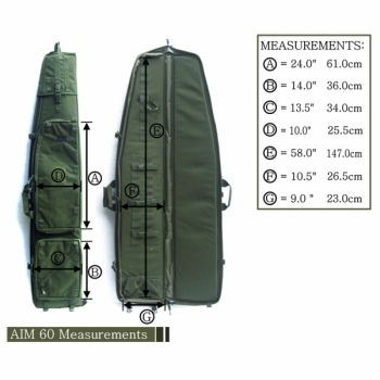FUNDA AIM 60 TACTICAL DRAGBAG - 3