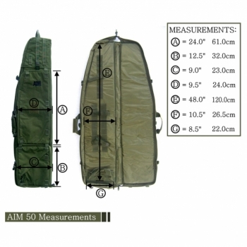 FUNDA AIM 50 TACTICAL DRAGBAG - 4