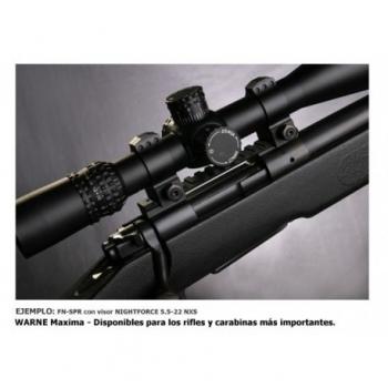 Juego de Anillas WARNE Tactical 30mm - 3