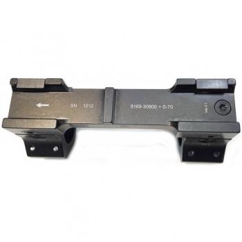 Montura APEL Táctica Black-line 20 MOA para Picatinny - 30mm. - 7