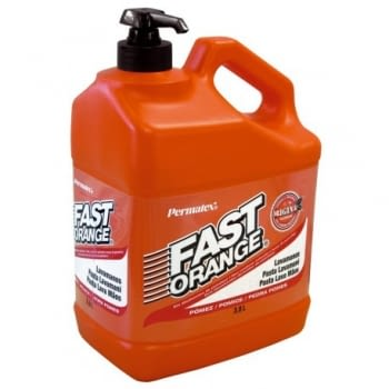 LAVAMANOS FAST ORANGE (dispensador) 3.78 L.