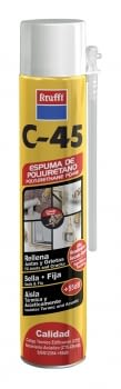 ESPUMA POLIURETANO C-45 cánula 750 ml