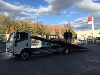 Vehículo entregado a SABIAL MOTOR