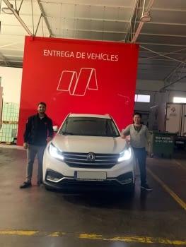 ¡ENTREGAMOS EL PRIMER SUV DE DFSK VENDIDO EN BALEARES!