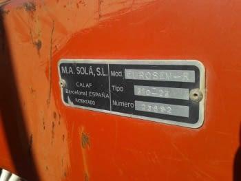 Sembradora de cereales SOLA 784 - 5