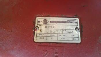 Hidronetejadora al tractor ILEMO / HARDI de 3 pistons - 2