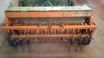 Sembradora de cereales GALLIGNANI de 3.00m de labor
