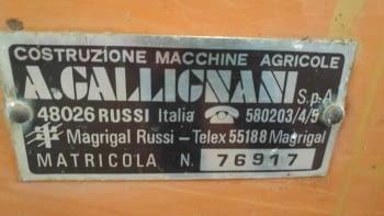 Sembradora de cereales GALLIGNANI de 3.00m de labor - 4