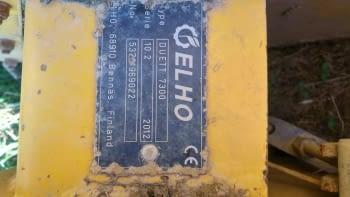 Segadora acondicionadora ELHO modelo DUET 7300 - 4