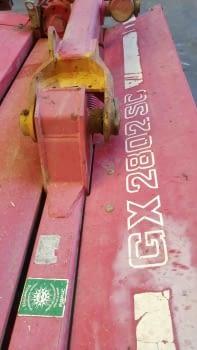 Segadora suspendida JF modelo GX-2802-SC - 5