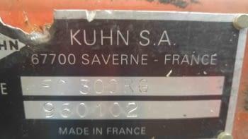 Segadora KHUN modelo FC-300 - 4
