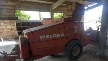 Empacadora WELGER modelo AP-730