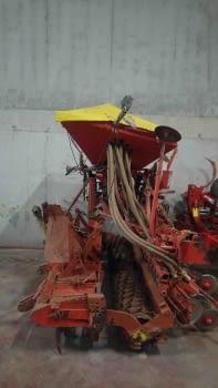 Equipo de siembra de cereales de grada rotativa +  sembradora - 1