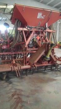 Equipo de siembra de cereales de grada rotativa +  sembradora - 3