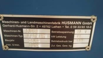 Astilladora de leña HUSMANN - 8