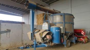 Secador de cereales ZAFFRANI modelo GZ-210
