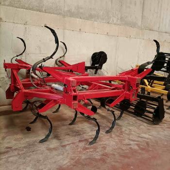 Cultivador vibro-flex KONGSKILDE modelo 4319VF de 19 brazos - 3